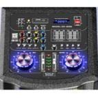 Boxe Profesionale 1200 w Active NRS DS6055 cu Mixer si Bluetooth Sisteme Audio Boxe