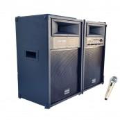 Set BOXE Active 720 w cu bluetooth si radio Vlliodor DS2035 Sisteme Audio Boxe