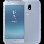 SmartPhone Dual SIM Samsung Galaxy J3 2017 Blue Silver Telefoane Mobile SmartPhone