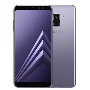 Samsung Galaxy A8 2018 Dual SIM Orchid Grey Telefoane Mobile SmartPhone