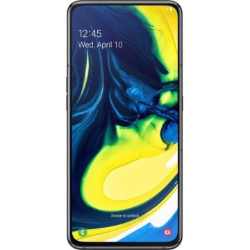SmartPhone Samsung Galaxy A80 128GB 8GB RAM Gold Dual SIM A805 Telefoane Mobile SmartPhone