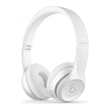 Casti Audio Beats Solo 3 Wireless by Dr Dre On Ear White (MRQC2ZM/A) Casti