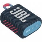 Boxa portabila bluetooth JBL GO 3 IPX7 Blue Sisteme Audio Boxe