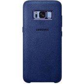 Husa protectie Alcantara Cover pentru Samsung Galaxy S8+ EF-XG955A Blue
