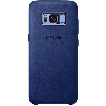 Husa protectie Alcantara Cover pentru Samsung Galaxy S8+ EF-XG955A Blue Accesorii Telefoane