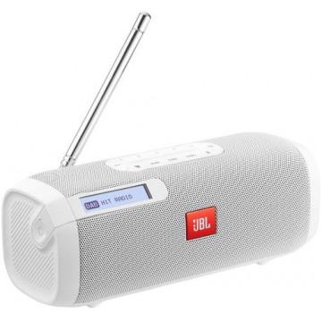 Boxa portabila cu bluetooth si radio JBL TUNER White Sisteme Audio Boxe