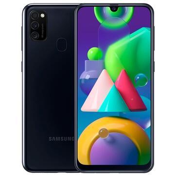 SmartPhone Samsung M21 64GB Dual SIM Black Telefoane Mobile SmartPhone