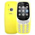 Telefon Nokia 3310 2017 Dual SIM Galben Telefoane Mobile SmartPhone