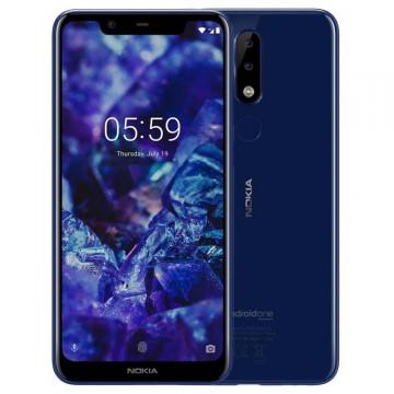 SmartPhone Nokia 5.1 Plus (X5) 32GB Dual SIM Blue Telefoane Mobile SmartPhone