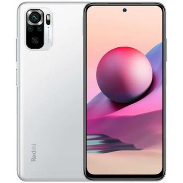 SmartPhone Xiaomi Redmi Note 10S 128GB Dual SIM Pebble White Telefoane Mobile SmartPhone