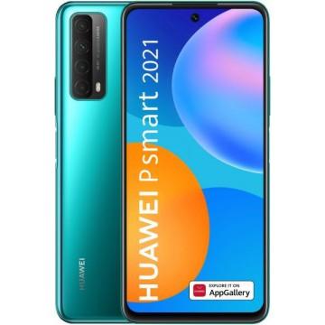SmartPhone Huawei P Smart 2021 128GB 4GB RAM Dual SIM Green Telefoane Mobile SmartPhone