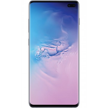 Samsung Galaxy S10+ 128Gb Dual SIM Black G975 plus Folie protectie Display Telefoane Mobile SmartPhone