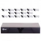 KIT Supravegere Full HD cu 16 camere AVR2116 H.264 Sisteme de supraveghere