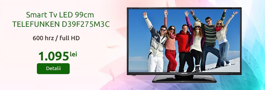 """Smart Tv 39"""" Full HD 600 Hrz"""
