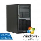Calculator FujitsuSiemens Esprimo P5730 + Windows 7 Premium dual Computere