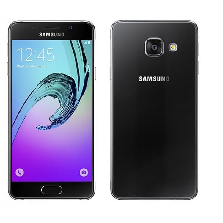 smartphone samsung galaxy a3 2016 a310f pret. Black Bedroom Furniture Sets. Home Design Ideas
